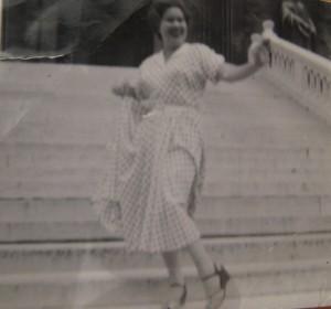 Mum, circa 1947