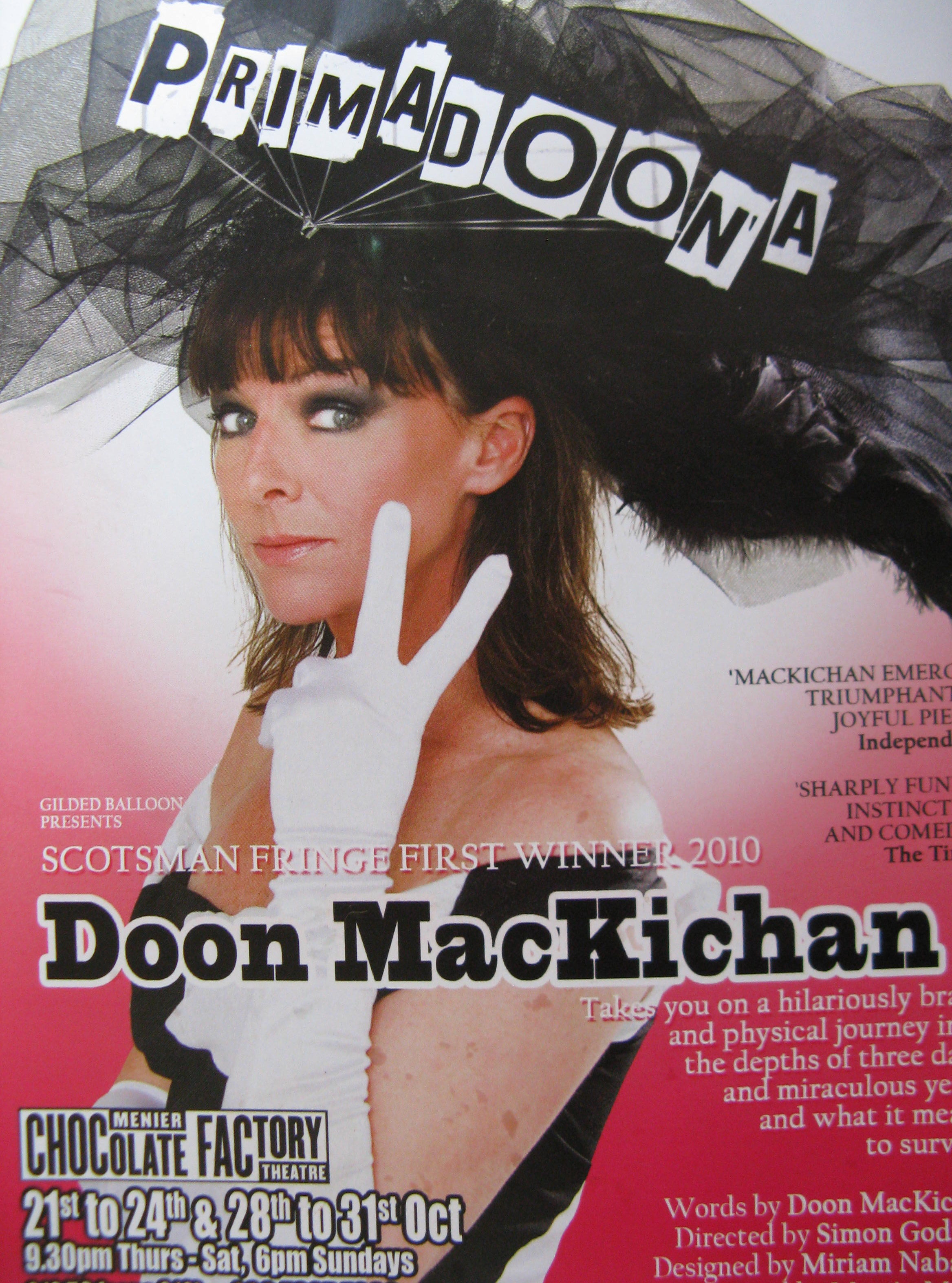doon mackichan voice over