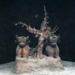 Traditional roof idols