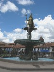 Plaza de Armas fountain