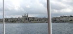 Valletta from on board our harbour cruise boat