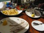 Yummy fishy lunch