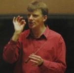 John Gibbons in rehearsal