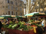 Fruit and Vegetable stalls