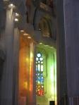 Sagrada Familia window effect