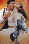Carmen and her stallion