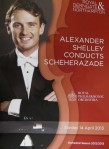 Review – Alexander Shelley Conducts Scheherazade, Royal Philharmonic Orchestra, Derngate, Northampton, 14th April 2013