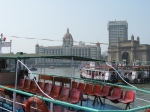 leaving the Gateway of India