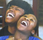 Abiona Omonua and Cynthia Erivo
