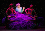 Dame Edna all feathery