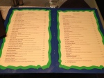 Status Restaurant menu