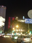 Night time in Ho Chi Minh City