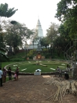 Wat Phnom clock