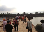 Arrival at Angkor Wat