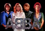 Abba with glitzy letters
