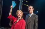 Patricia Hodge and Steven Pacey