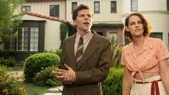 Jesse Eisenberg and Kristen Stewart