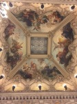 One of the ceilings