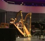 Two harpists