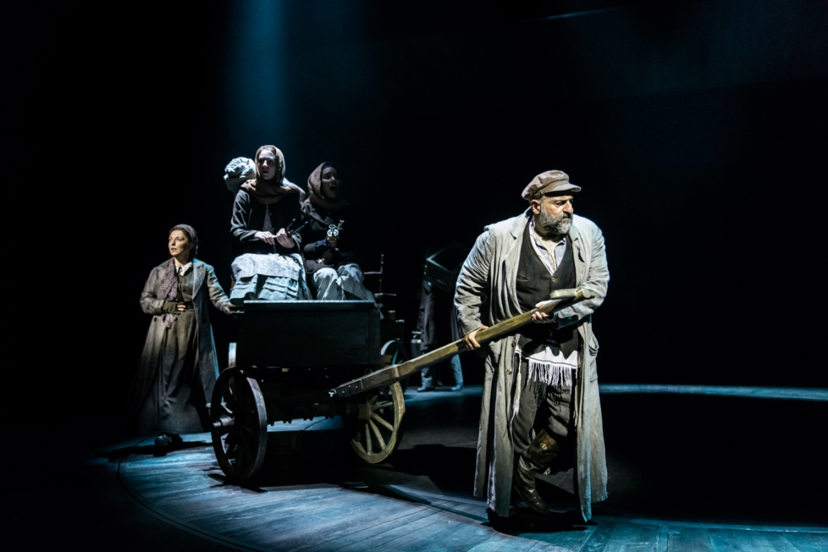 Tevye takes them away