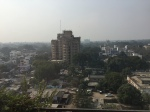 Allahabad - view from our hotel roof