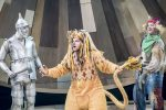 Cowardly Lion and pals