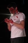 A bloody Jason