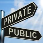 Private versus public