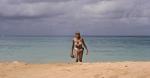 Ursula Andress on the beach