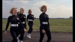 Pussy's aircraft girls