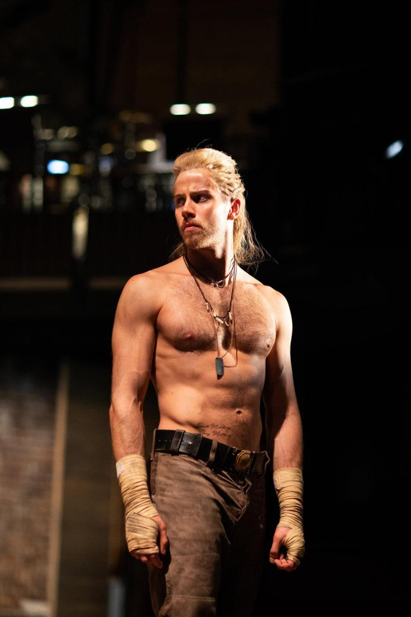 Andy Apollo as Achilles
