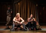 James Cooney as Patroclus, Andy Apollo as Achilles and Adjoa Andoh as Ulysses