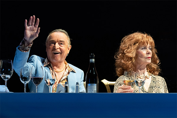 ron cook and celia imrie in celebration