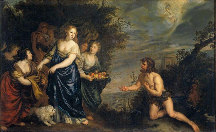 Ulysses and Nausicaa