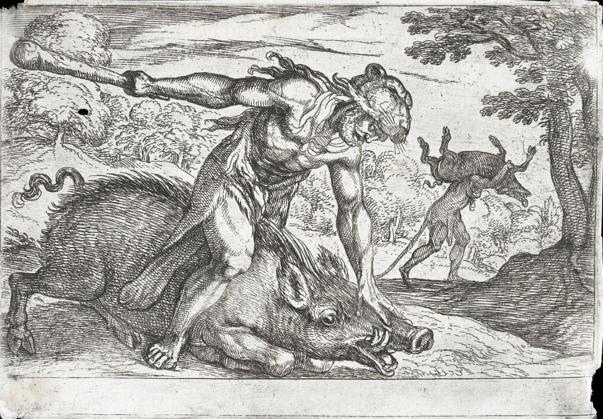 The Erymanthian Boar